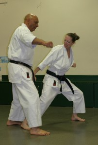 Me and my Sensei, but I am under no illusions